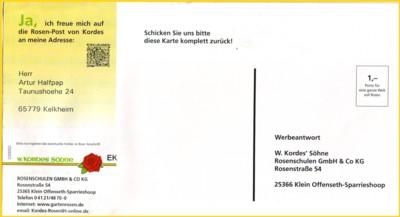 Gelaufen Deutsche Post 3 Briefe Mit Handyporto-marken