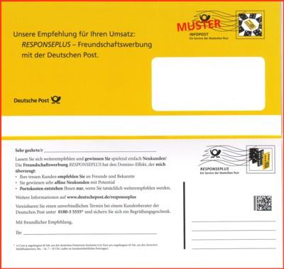 Werbekarte Responseplus Mailingtage Nürnber 2011
