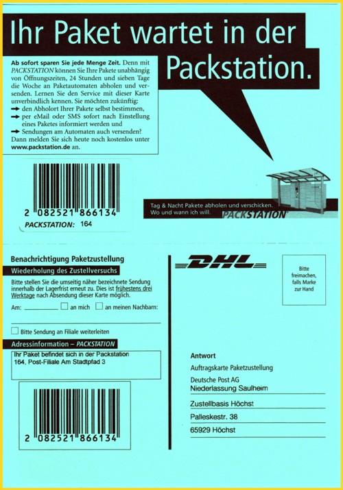 Packstation Abholen Ohne Karte.Die Packstation Startet Durch