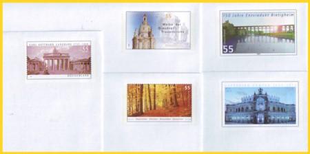 Plusbrief Set 5 verschiedene Briefe 55 Cent
