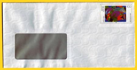 Plusbrief kompakt mit Fenster mit steigenden WZ - Motiv Hölzel
