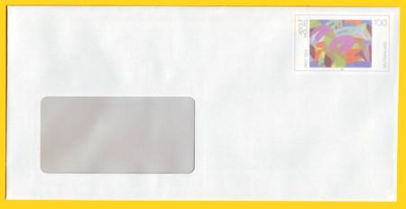 Plusbrief kompakt mit Fenster ohne WZ 100 Cent - Motiv Hölzel