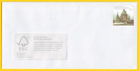Plusbrief kompakt 95 Cent mit Fenster - Motiv Berliner Dom