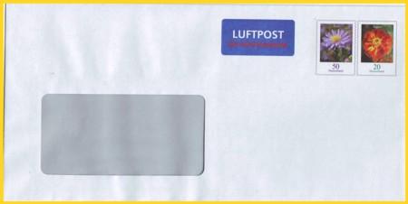 Lp-Plusbrief Europa 70 Cent Notauflage